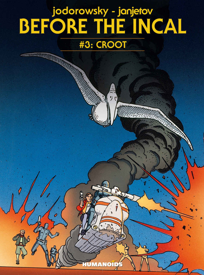 Before the Incal Vol. 3 Croot