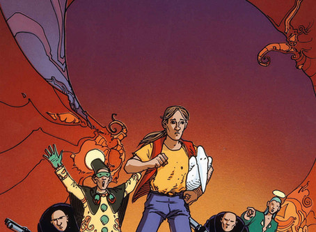 Before the Incal by Alexandro Jodorowsky