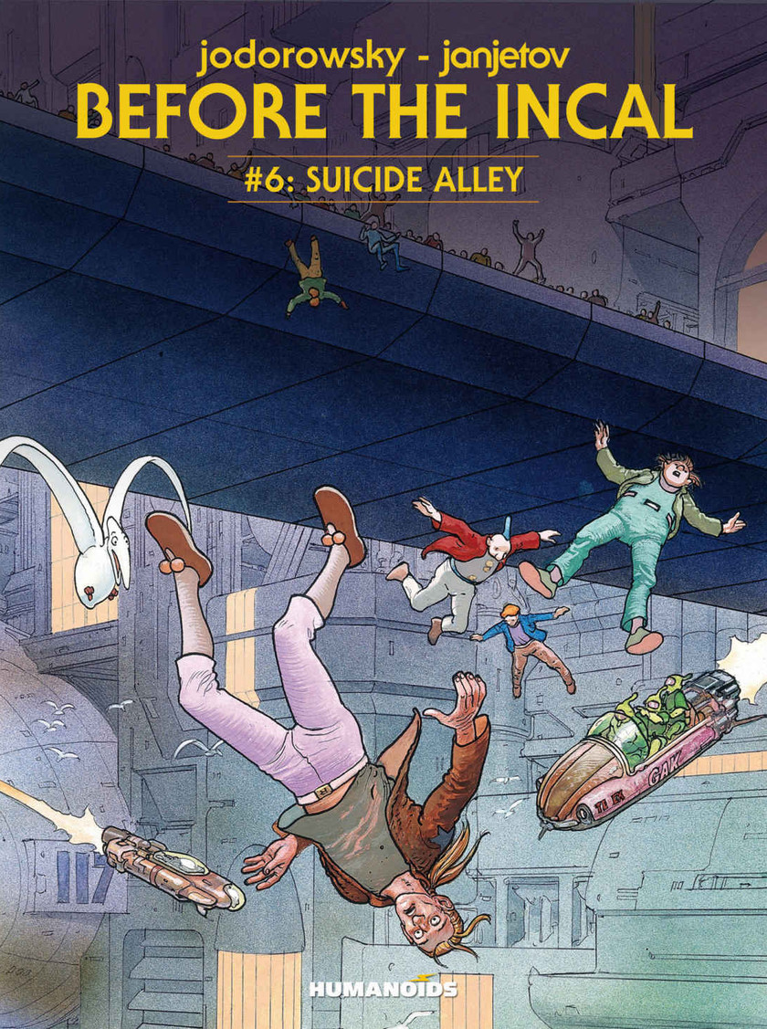 Before the Incal Vol. 6 Suicid