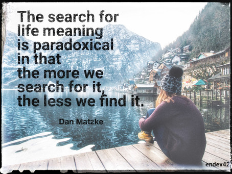 Man's Search For Meaning In Spirituality - Book Review