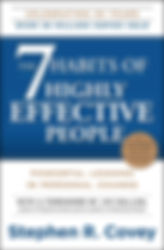 The 7 Habits of Highly Effective People.
