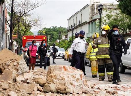 A una semana del sismo en Oaxaca: recuento de los daños