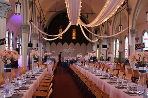 Private events are held in the hall too!