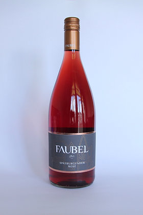 Faubel Spätburgunder Rosé 2020 - 1 liter.