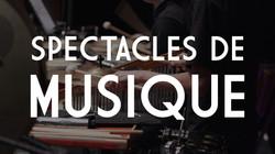 Spectacles de musique