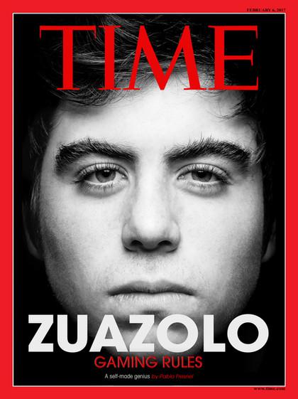 Pablo Sabater Foto Versión Personal Magazine Time