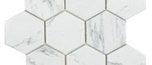 Carrara Hexagon Mosaic