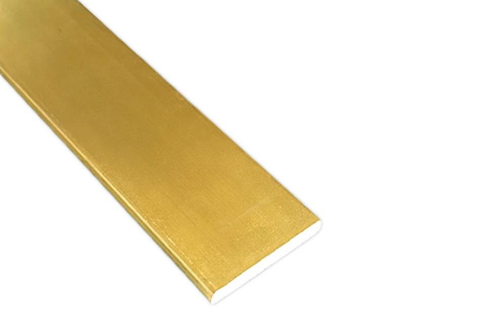 Brass Flat Bar 19mm