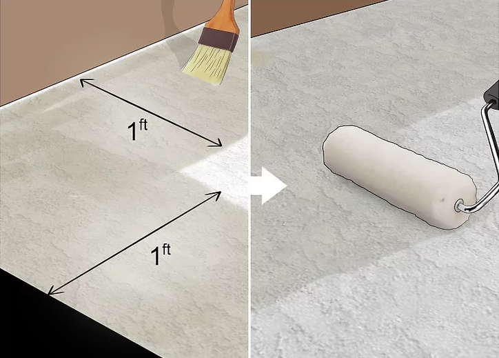 5.Cover the subflooring with a bonding a