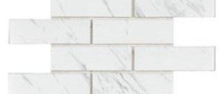 Carrara Subway Mosaic