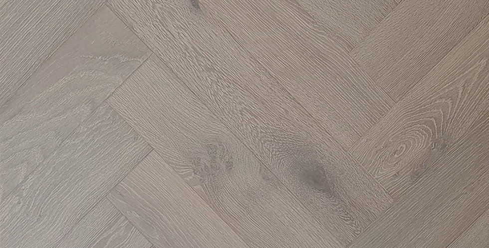Moss Grey Herringbone
