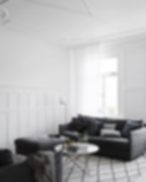 soft palettes of white,greys and charcoa