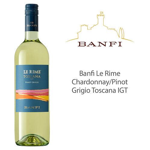 Banfi Le Rime Chardonnay/Pinot Grigio Toscana IGT 375 ml