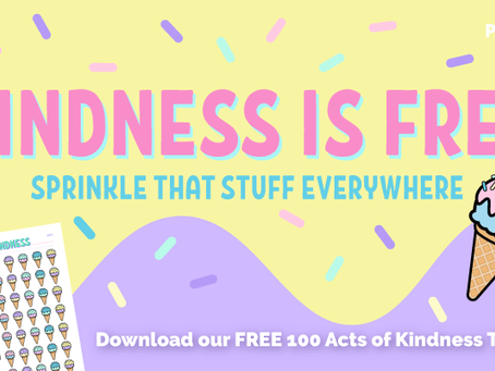 FREE 100 Acts of Kindness Tracker Printable