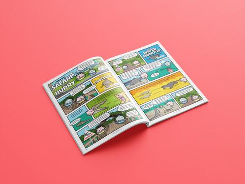 Wild Singapore Volume 3 - STEM inspired comic