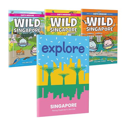 Wild Singapore & SG Explorer Journal Bundle