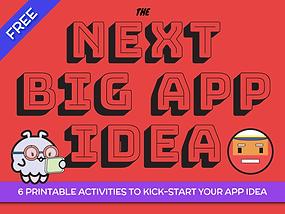 6 Printable Activities to Kick-start your App Idea