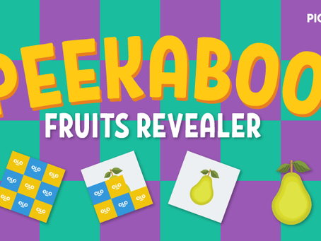 "FREE ""Click To Reveal"" Fruits Activity Pack for Pre-K"