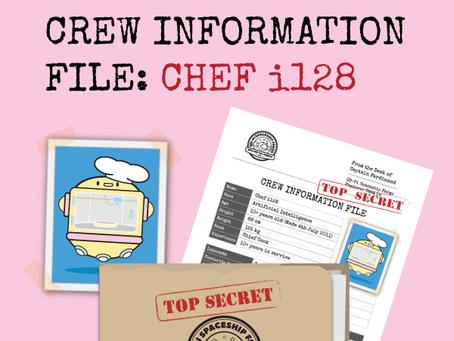 Chef i128's Crew Information File
