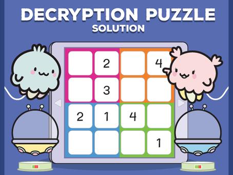 Peppy's Decryption Puzzle Solution