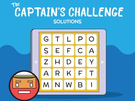 Captain's Challenge 2 & 3 Answers
