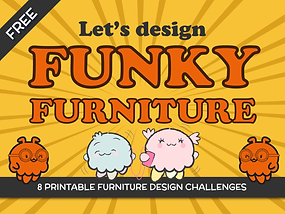 """8 Printable """"Music-Inspired"""" Furniture Design Challenges"""