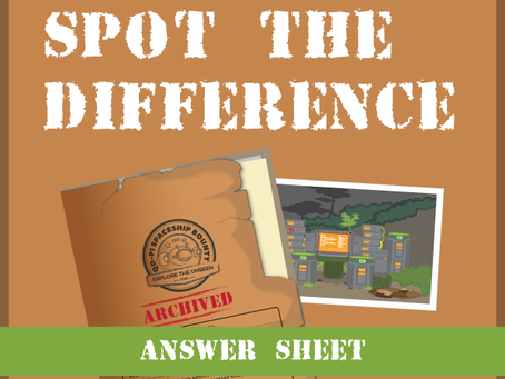 Archived Files: Spot the Difference Answers