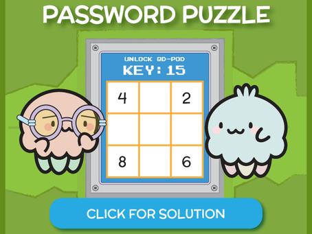 Peppy's Password Puzzle 1 Solution