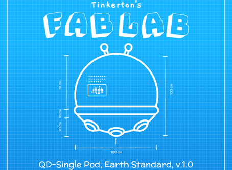 FabLab: QD-Single Pod, Earth Standard v1.0