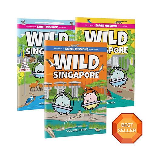 Wild Singapore Vol 1, 2 & 3 Bundle