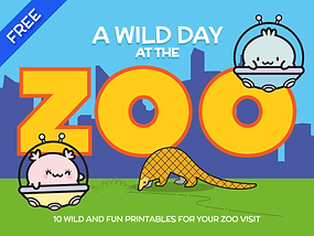 10 wildlife related printable activities to bring on your next Zoo visit