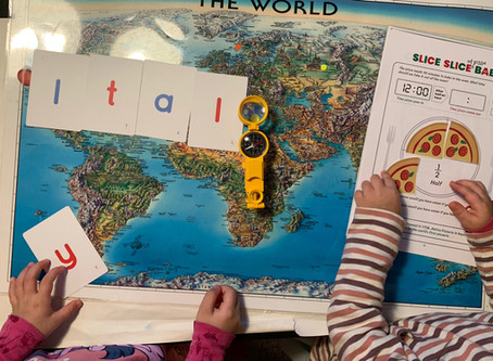 How Our Kids Used Our Italian Piqolo Pack