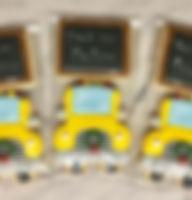 Christmas Bus Cookies