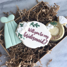 Cute way to ask your tribe!_Ring Cutter_