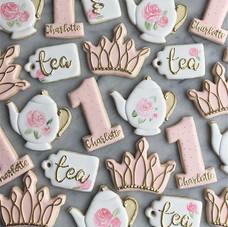 Princess Tea Party for Charlotte!! Kind