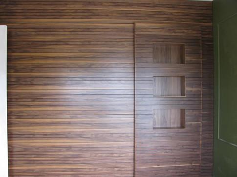 Walnut panelled wall.JPG