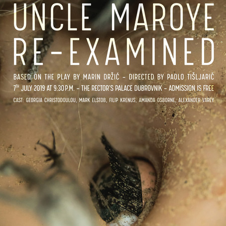 "Premiere of the play ""Uncle Maroye: Re-Examined"""
