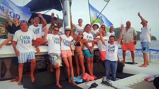 evenement sur catamaran martinique