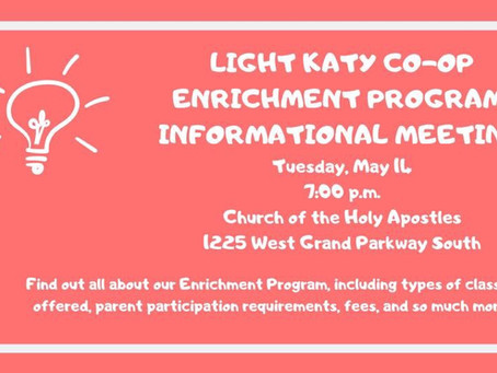 Final Informational Meeting for Fall 2019