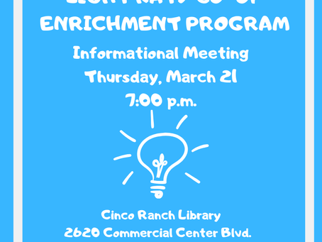 Wondering about our Enrichment Program? Come! Find out more.