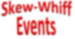 Skew-Whiff Events Logo