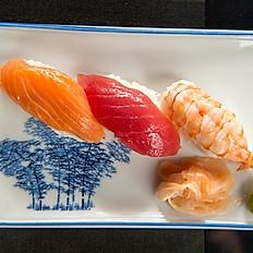 27. Mini Nigiri platter (3pcs)