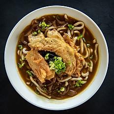 100. Tempura Udon or spicy Tempura curry Udon