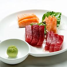 30. Tuna & Salmon Sashimi (12pcs)