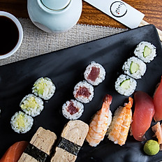 33. Mixed Nigiri & Maki platter (20pcs)