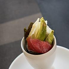 57. Tuna Avocado Sesame
