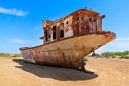 Rustic Ships & Broken Dreams