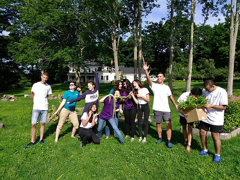 YAGA18-peace garden-group shot-ffi staff