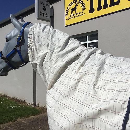 Cotton Scrunchie Neck Rug -Zip Up
