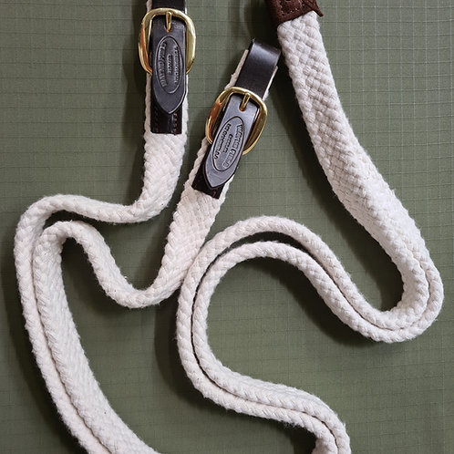 Wayne Field Cotton Reins - White